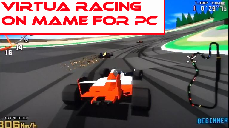 Virtua Racing on Mame for PC