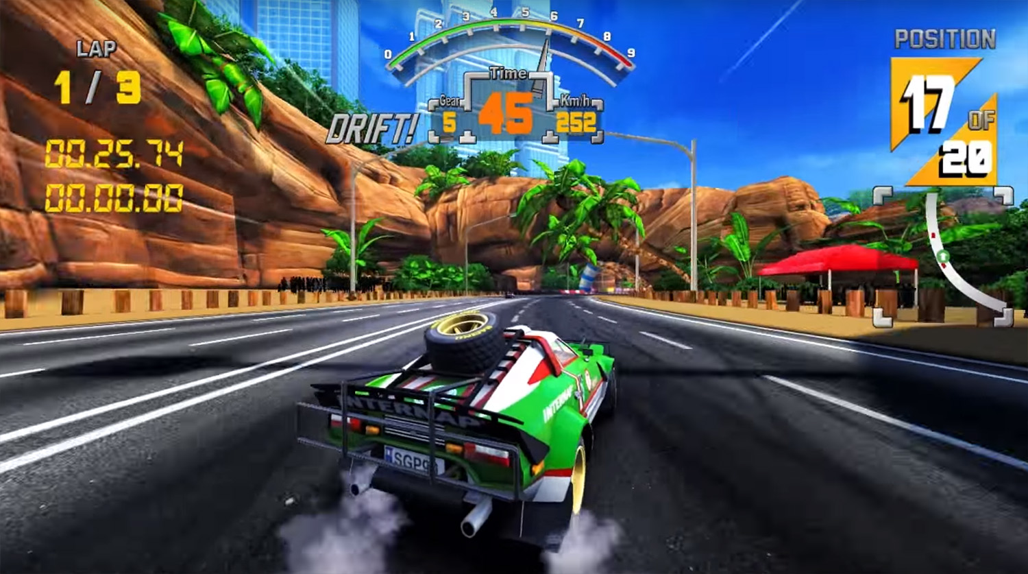 Is The 90s Arcade Racer gearing up for release? New gameplay video shows near-final build