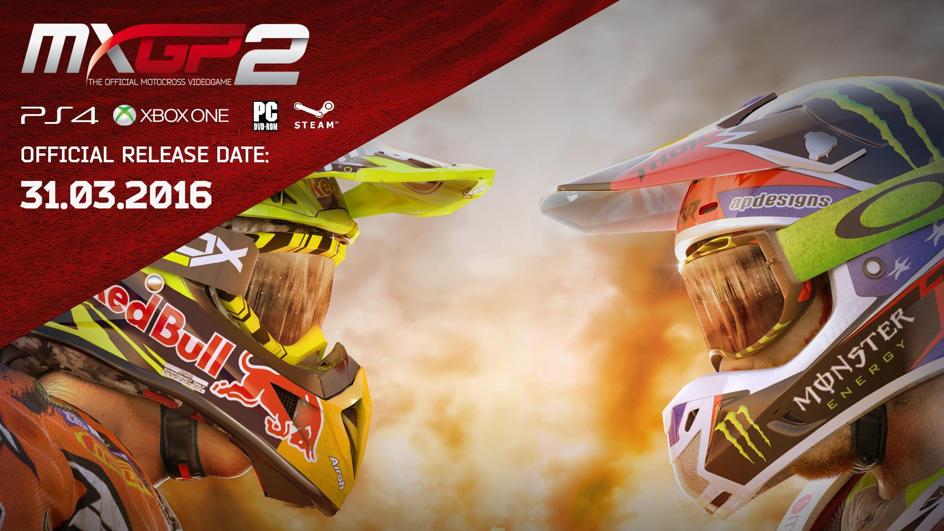 MXGP 2's release date revealed