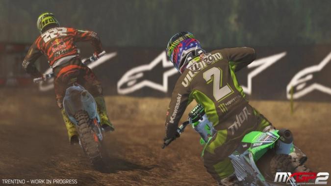 Latest MXGP 2 screens tease work in progress Trentino track