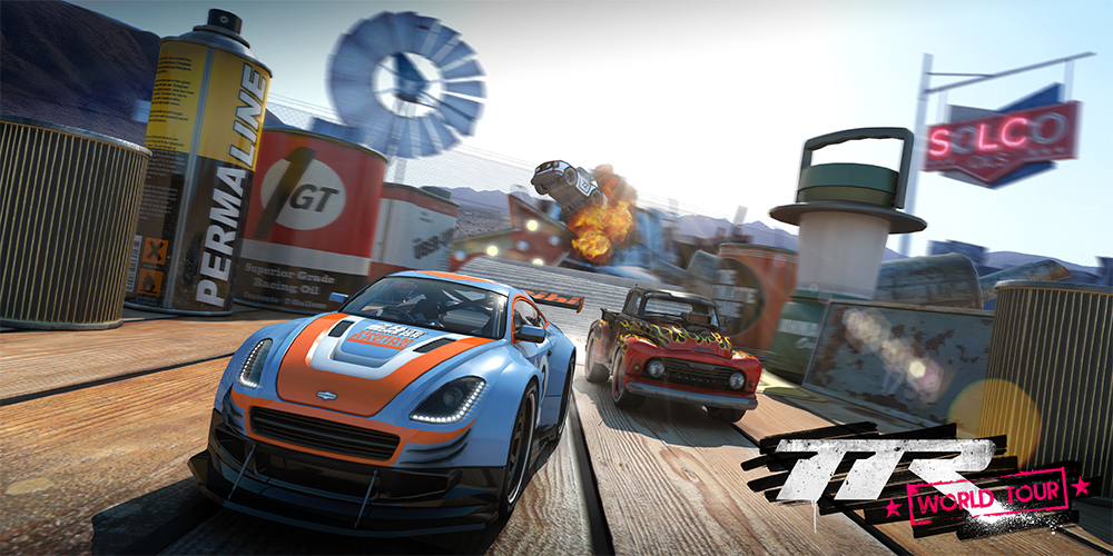 Table Top Racing World Tour confirmed for PC and Xbox One: new screens and trailer