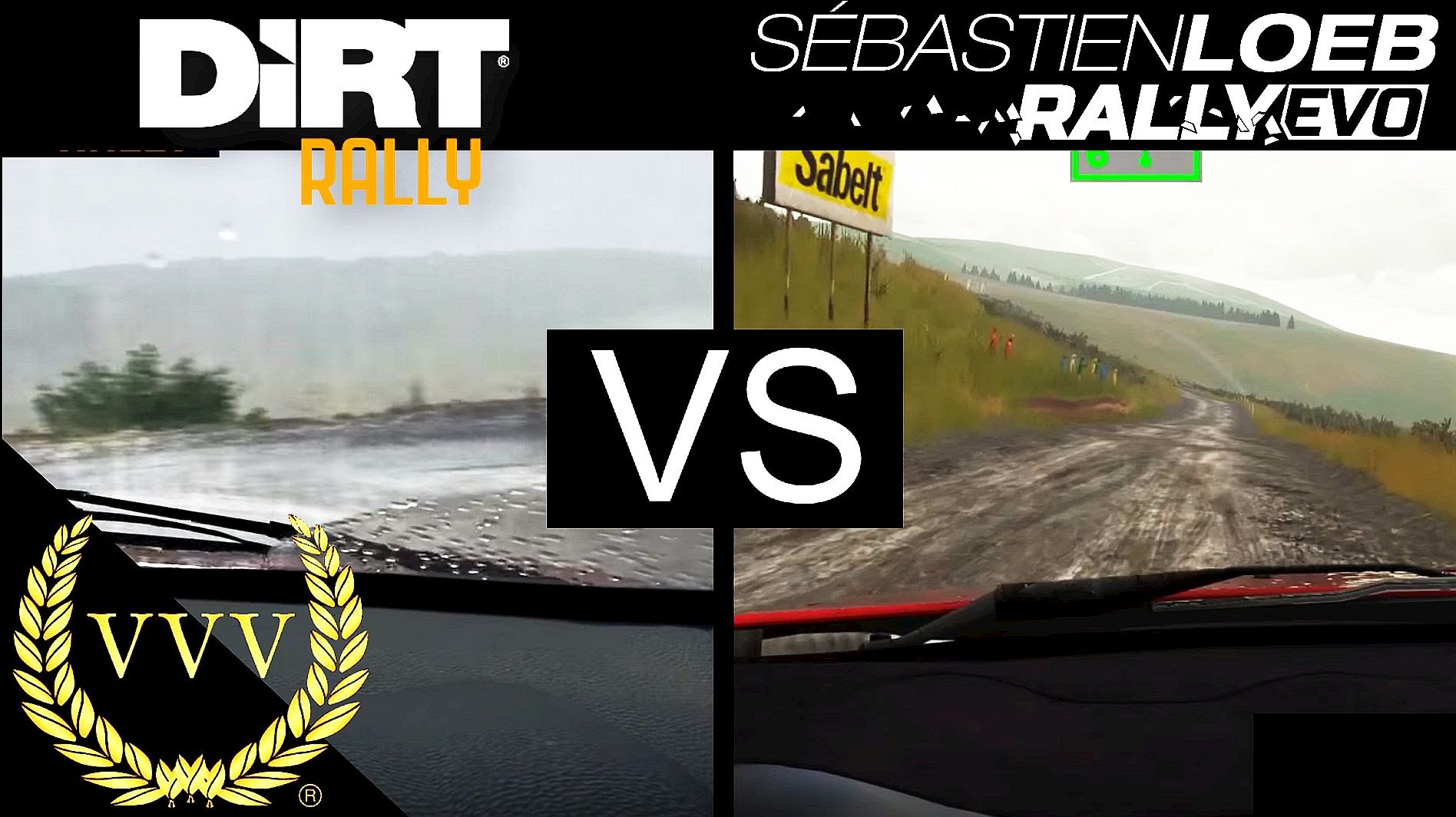 DiRT Rally vs Sebastien Loeb Rally EVO Comparison