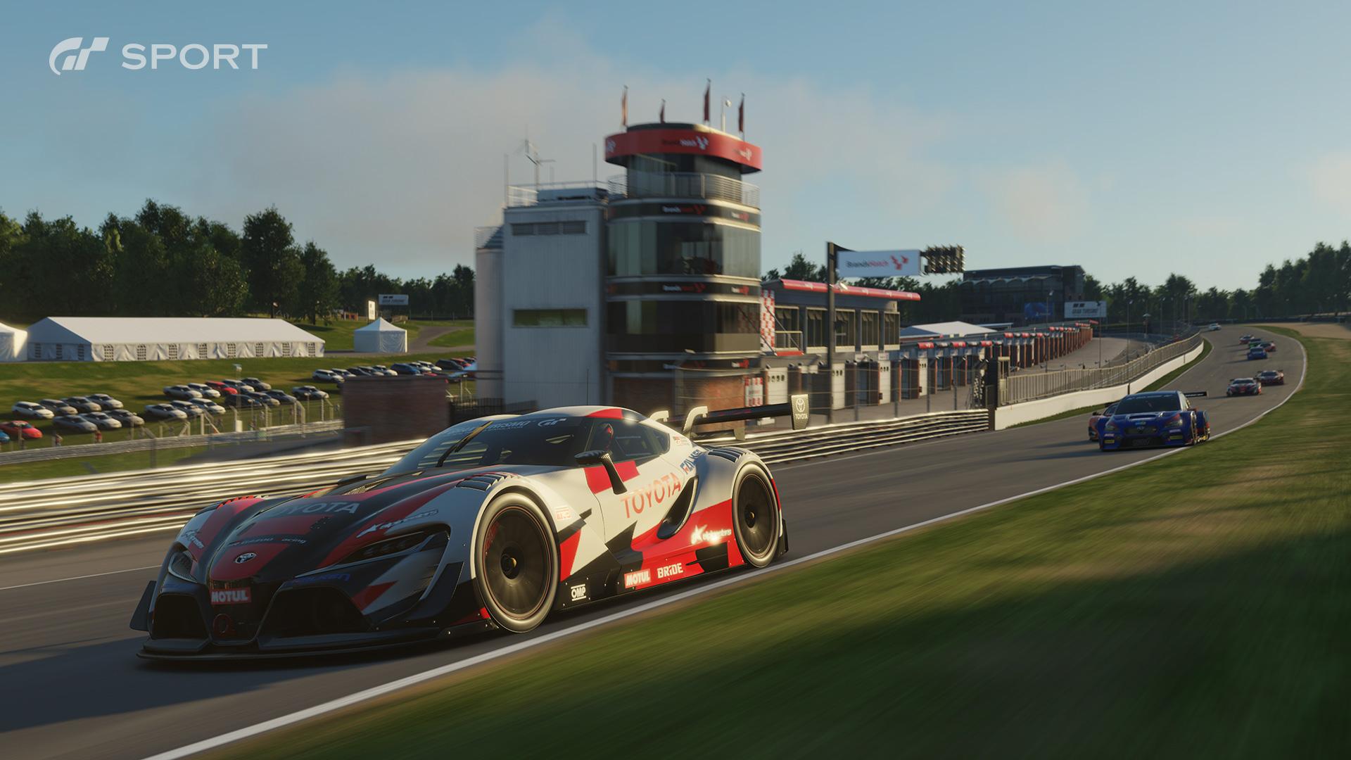 Gran Turismo Sport's engine sounds show significant improvement