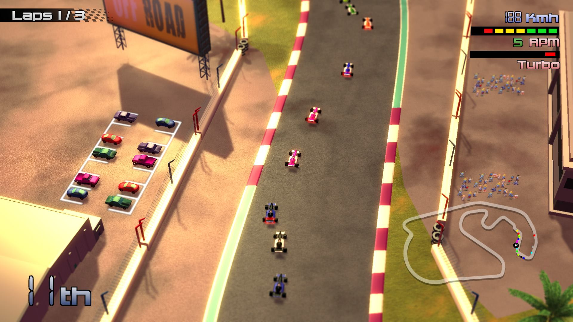 Grand Prix Rock 'N Racing release date and first footage revealed