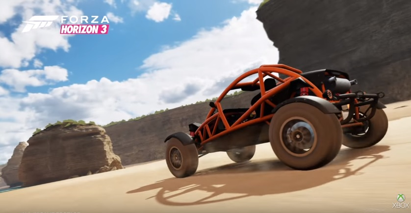 Forza Horizon 3 release date announced, set in Australia