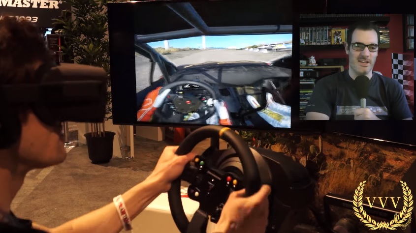 First look at WRC 6 with the Oculus Rift VR