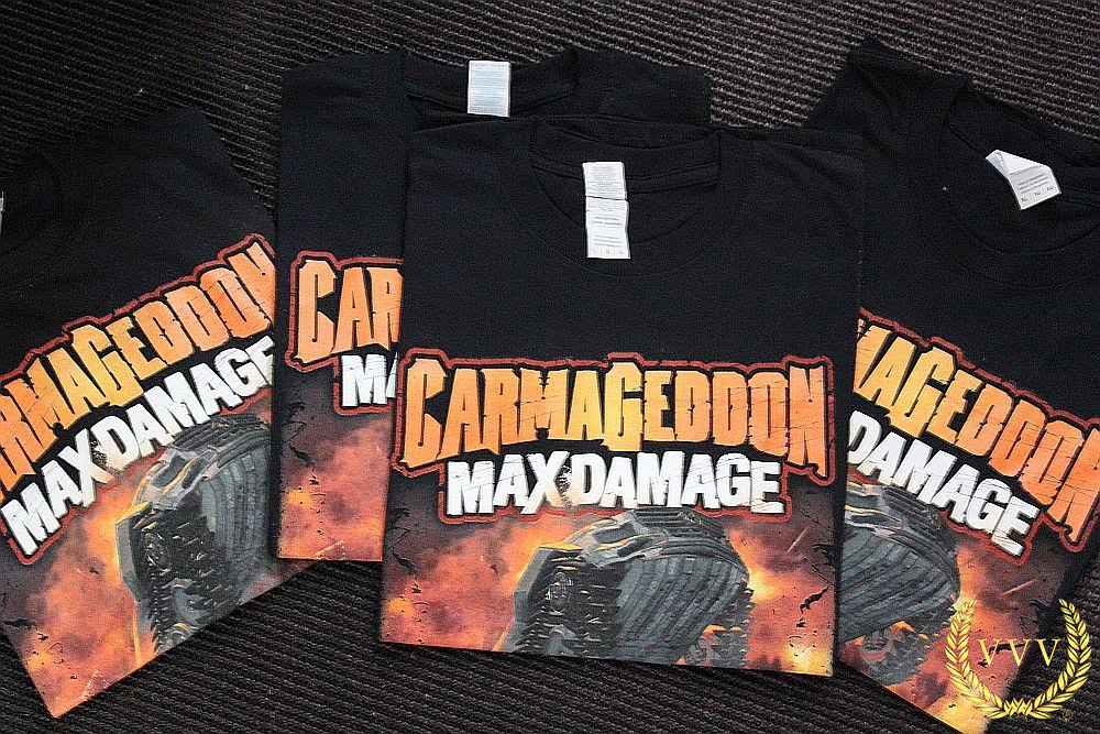 Win a Carmageddon Max Damage t-shirt