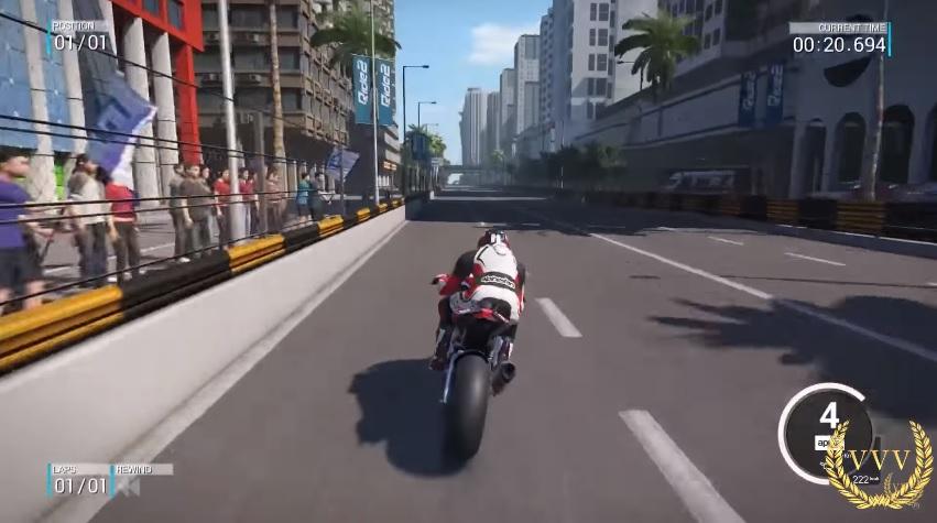 Latest Ride 2 gameplay video showcases Macau Street Circuit