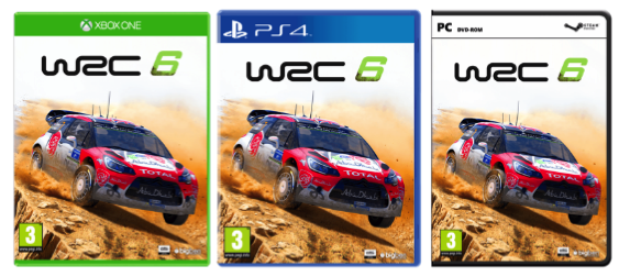 wrc 6 39 s various cover arts revealed team vvv. Black Bedroom Furniture Sets. Home Design Ideas