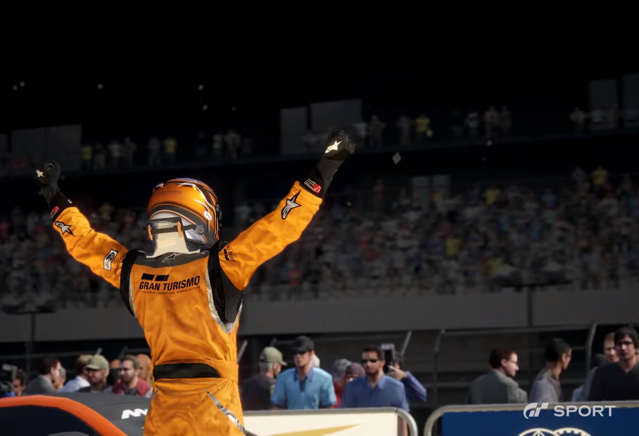 Damage and nondynamic weather conditions planned for GT Sport, aiming for 60 fps