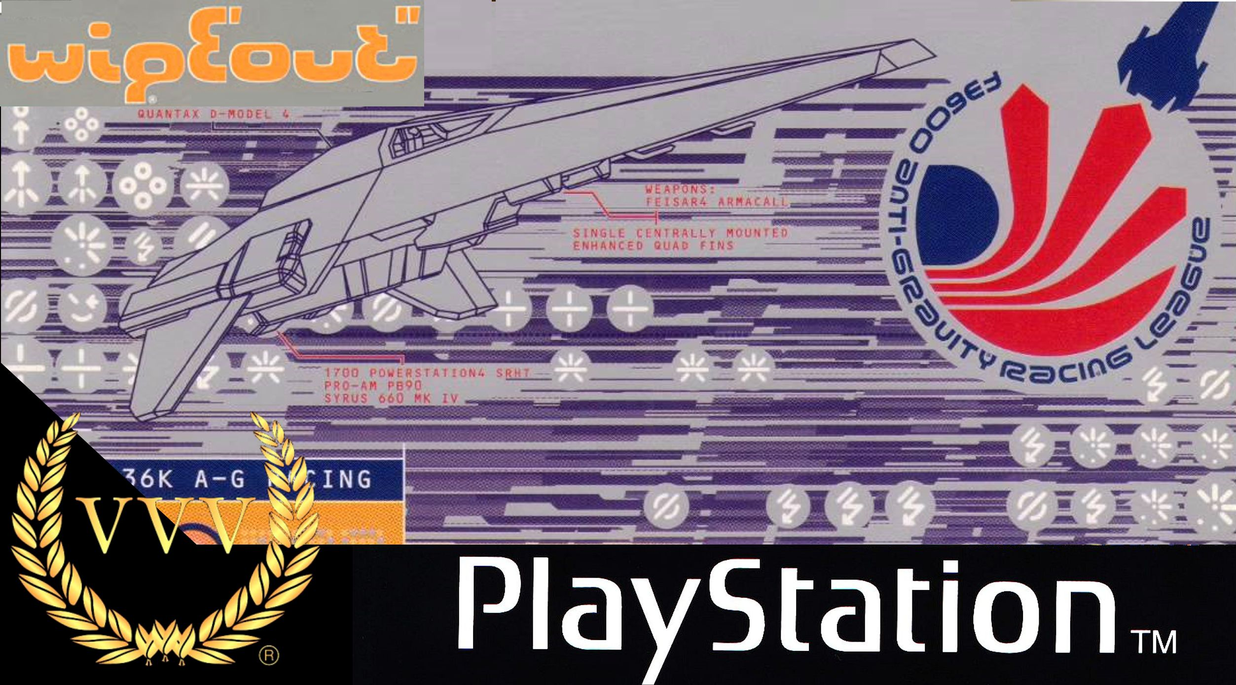 We revisit the PlayStation 1 defining classic racer Wipeout