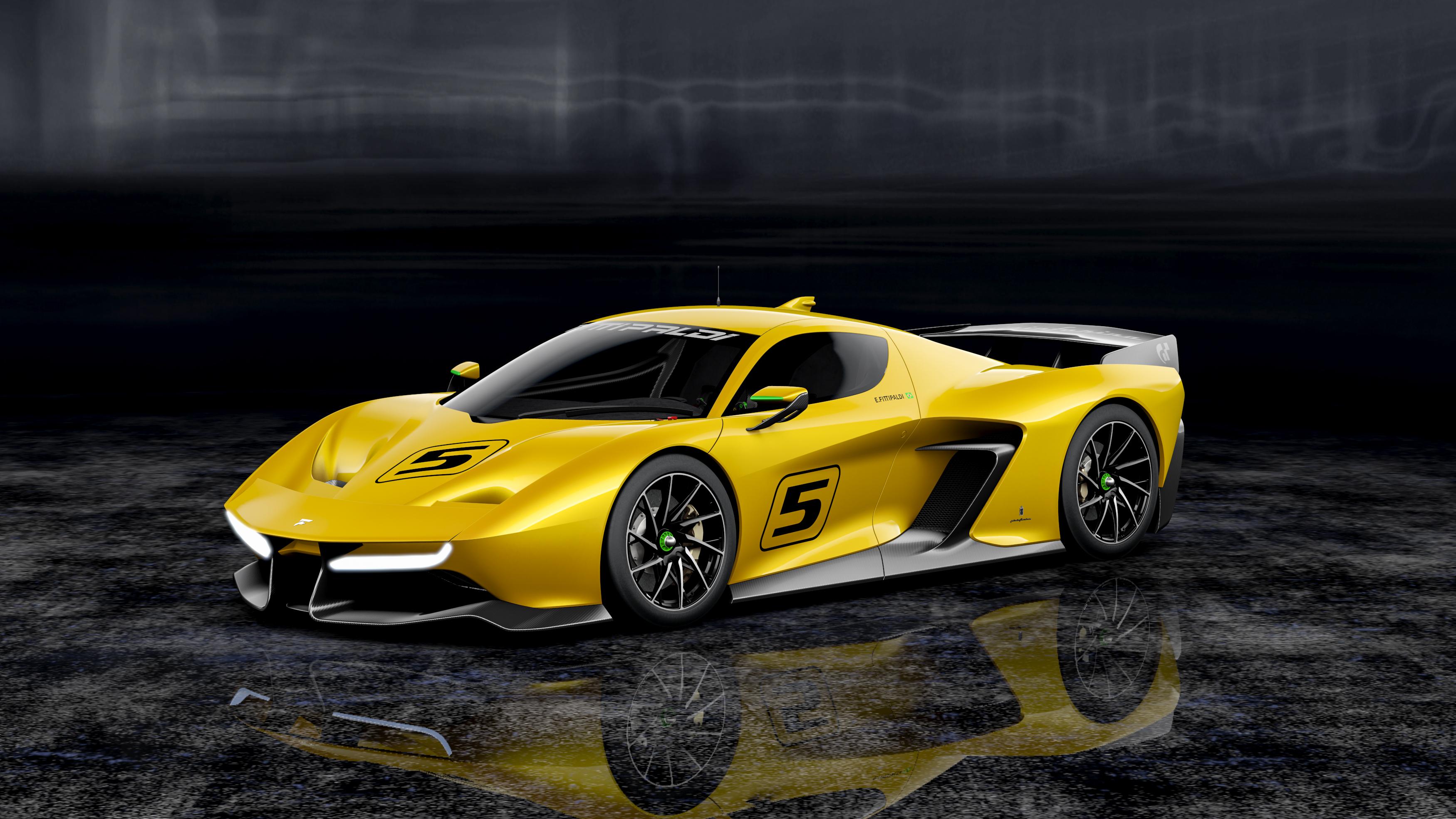 Fittipaldi EF7 Vision Gran Turismo by Pininfarina unveiled at Geneva Motor Show