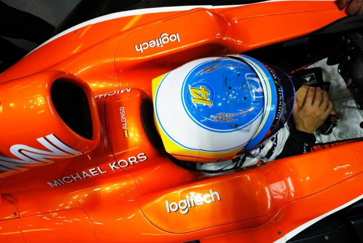 McLaren-Honda announces new partnership with Logitech