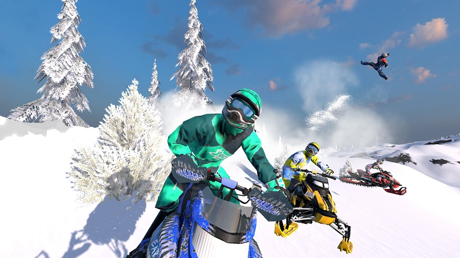 Snow Moto Racing Freedom releasing for PS4 & PC in 2 weeks