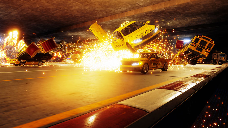 Original Burnout creators announce Crash Mode-inspired Danger Zone for PS4 and PC