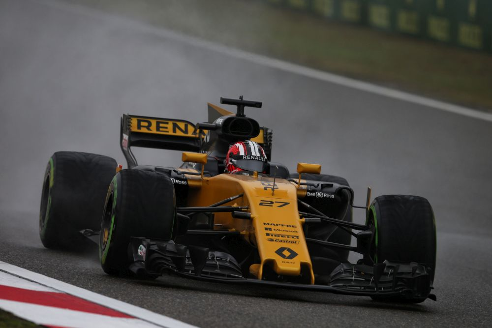 F1 2017 Chinese Grand Prix FP1 Report: Max Tops A Soggy Session