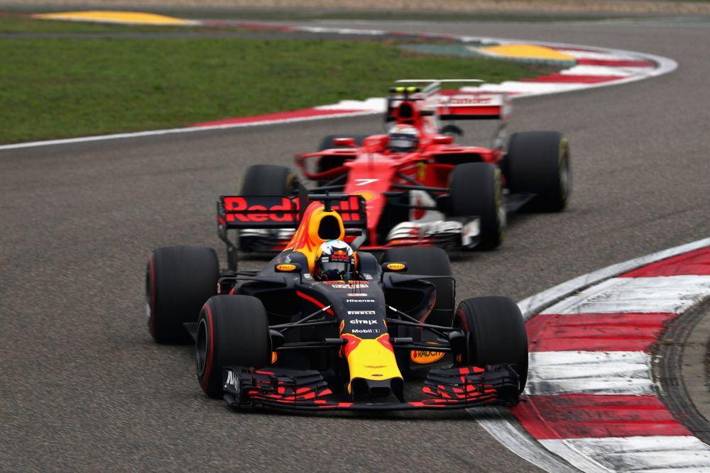 F1 2017 Chinese Grand Prix Race Report