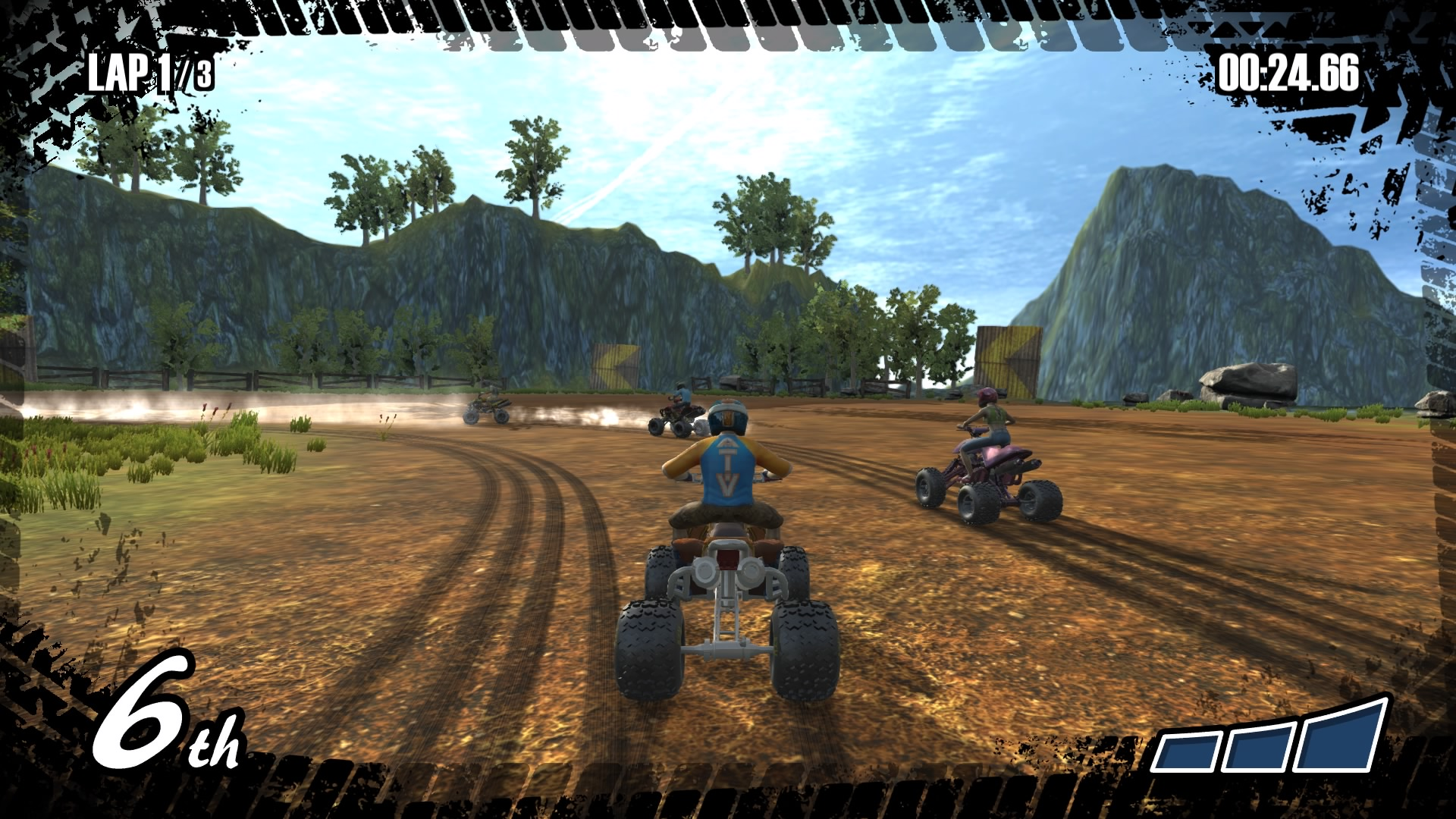 Quad bike racer ATV Renegades released today for PS4 & Xbox One