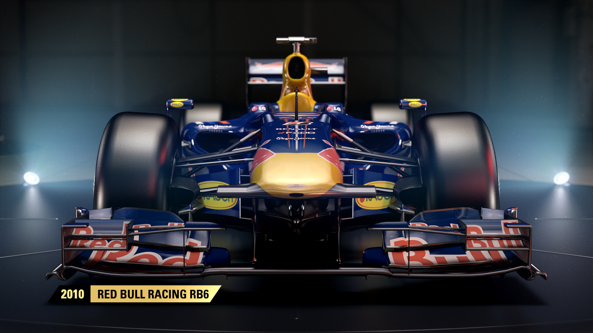 Red Bull Racing RB6 joins F1 2017's classic car roster