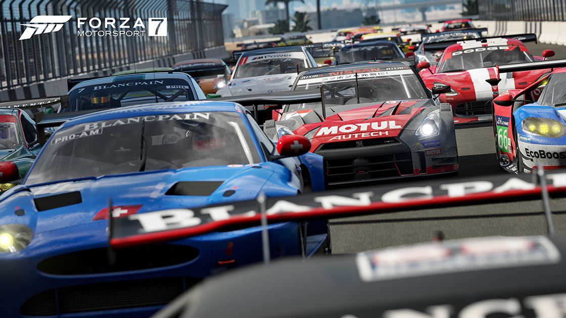 Forza Motorsport 7's launch day and pre-order DLC outlined