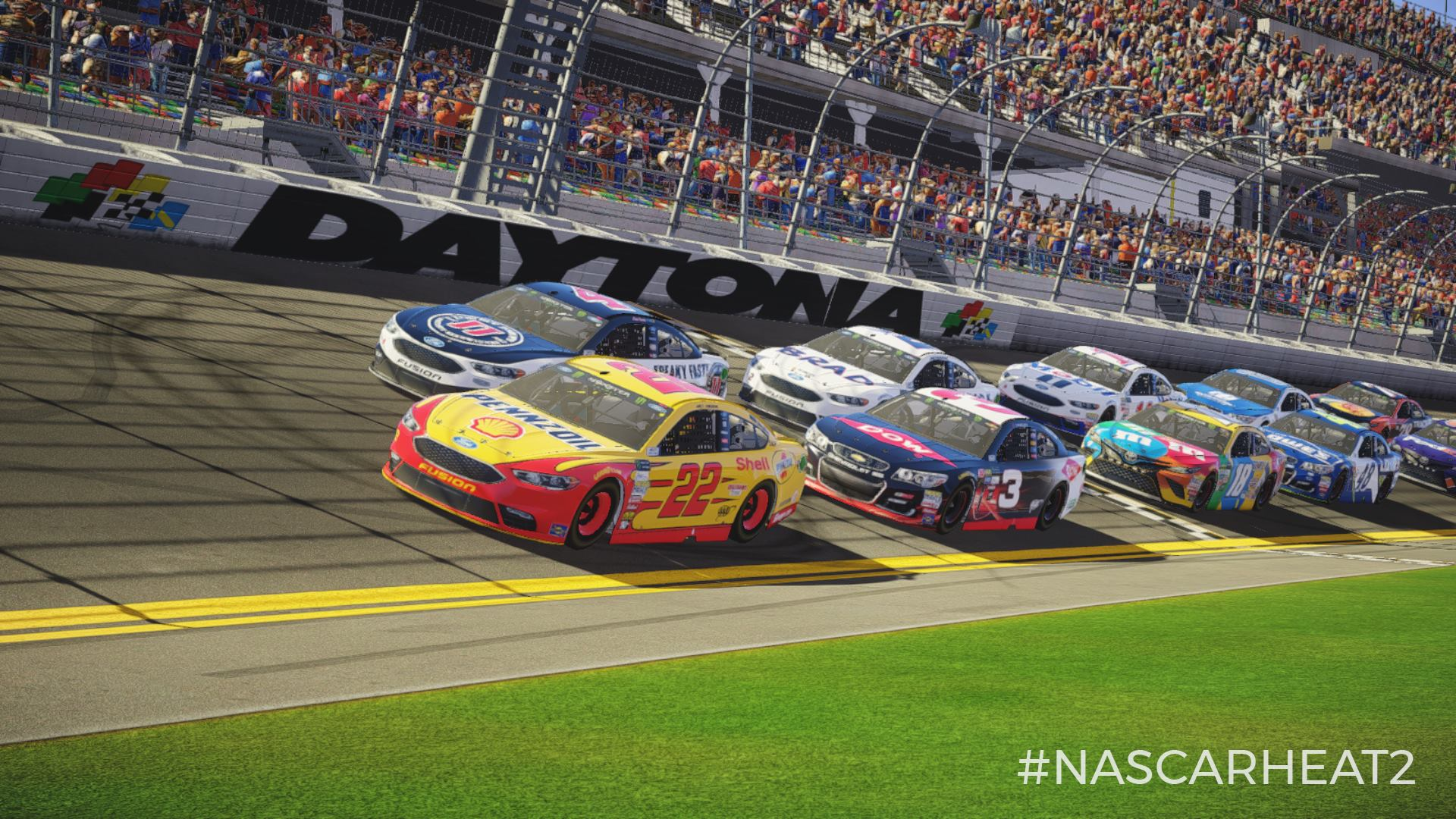NASCAR Heat 2 to feature content from all three major NASCAR series