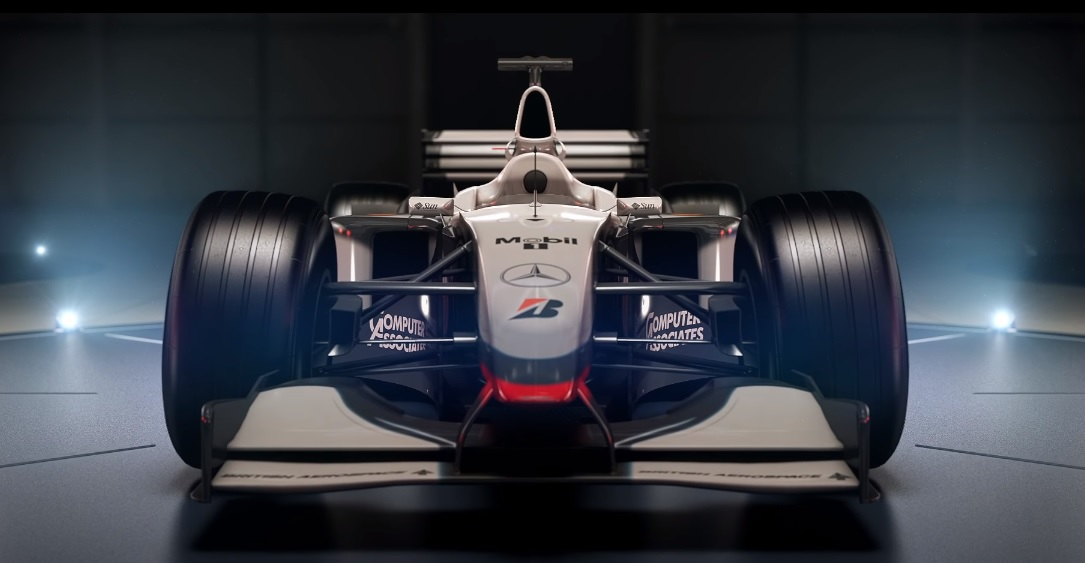 F1 2017: These four McLarens complete the classic car line up