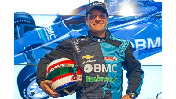 Barrichello signs for KV Racing