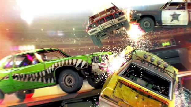 DiRT Showdown demo slams into Steam, XBLA and PSN