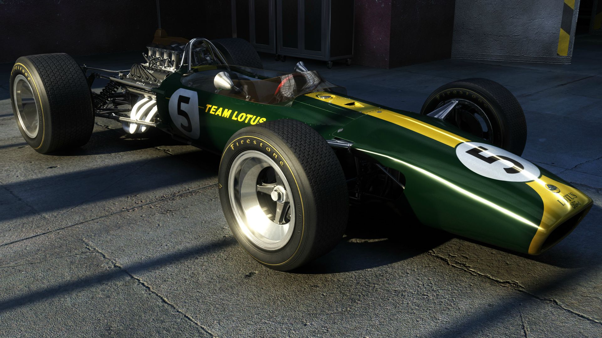 Classic Lotus F1 racers for Project CARS