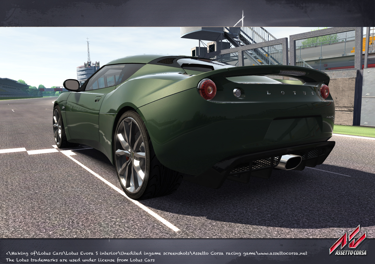 Assetto Corsa acquires Lotus license