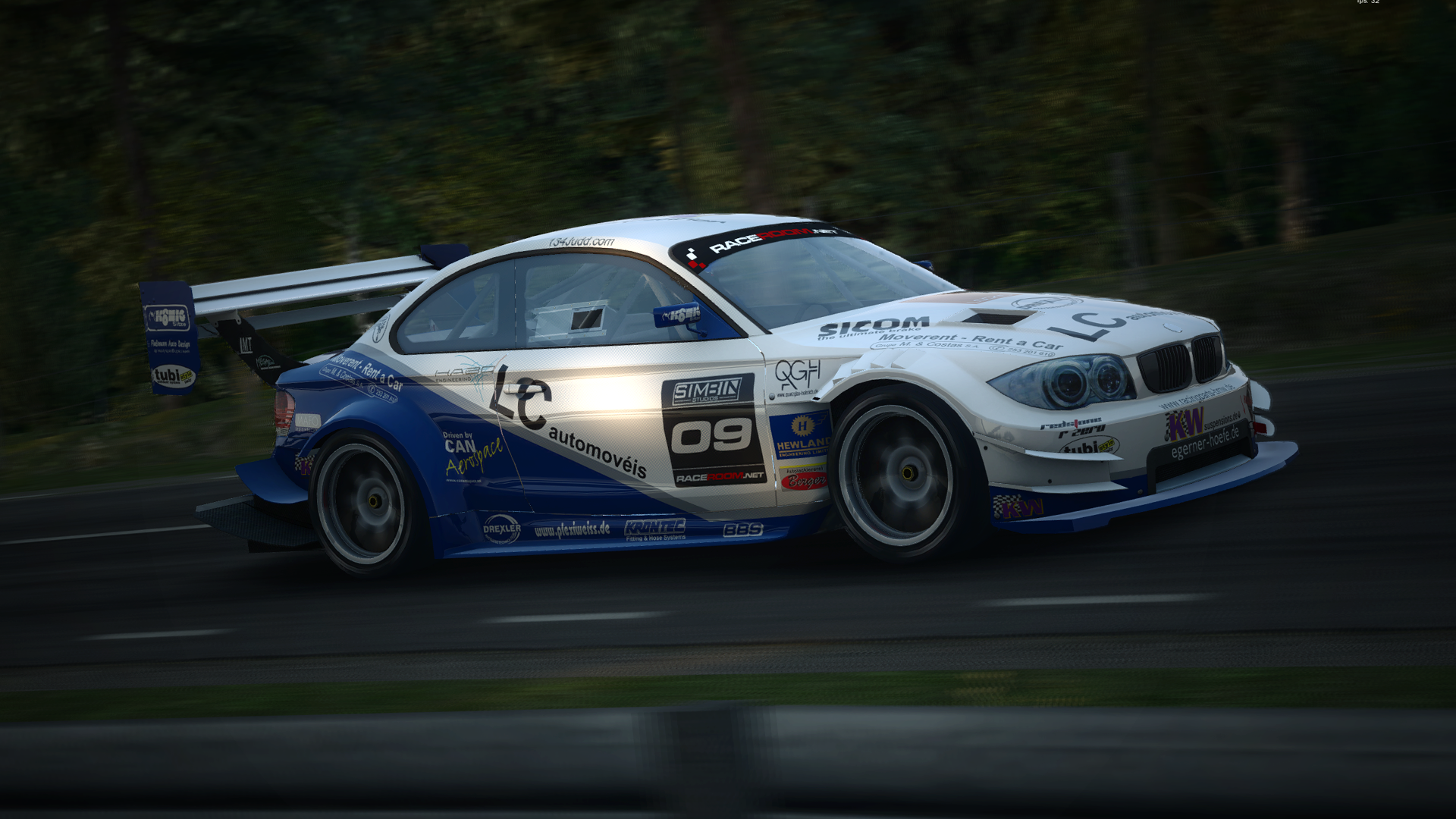 SimBim's RaceRoom Racing Experience playable in two weeks