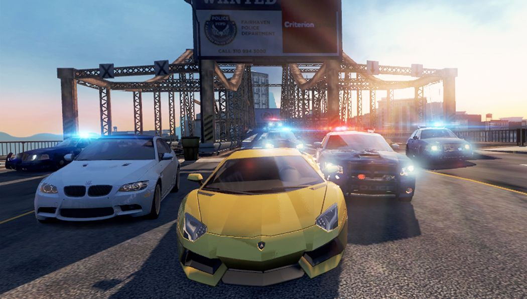 First Need for Speed Most Wanted Vita and mobile screenshots are awe-inspiring