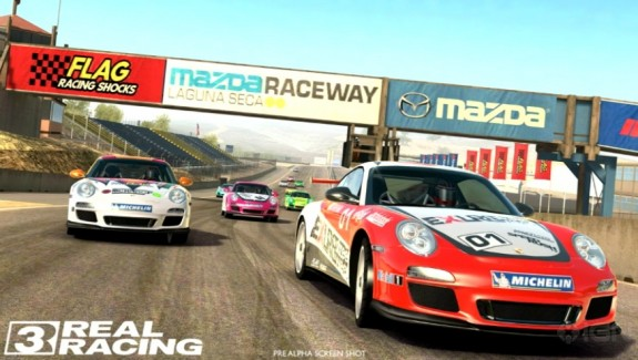 Real Racing 3 sets the graphical pinnacle for mobile racing