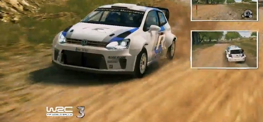 WRC3 gameplay video navigates the twists and turns of Argentina