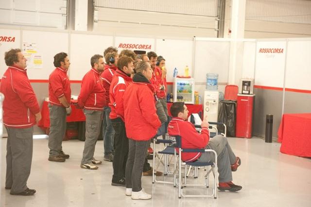 Ferrari F458 Challenge Rosso Corsa team