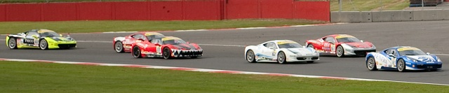 Ferrari F458 Challenge Trofeo Pirelli Coppa Shell Silverstone