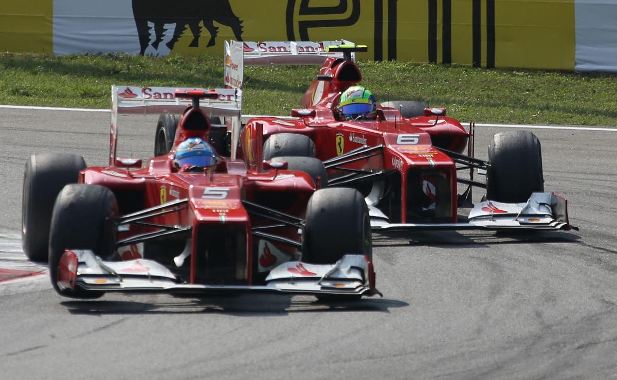 Ferrari Perspective Monza 2012