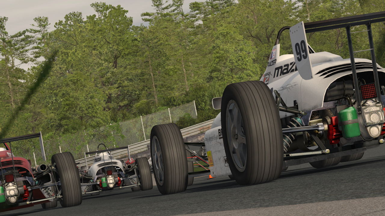 rFactor 2 Build 125 adds new car, track and Resume from Replay