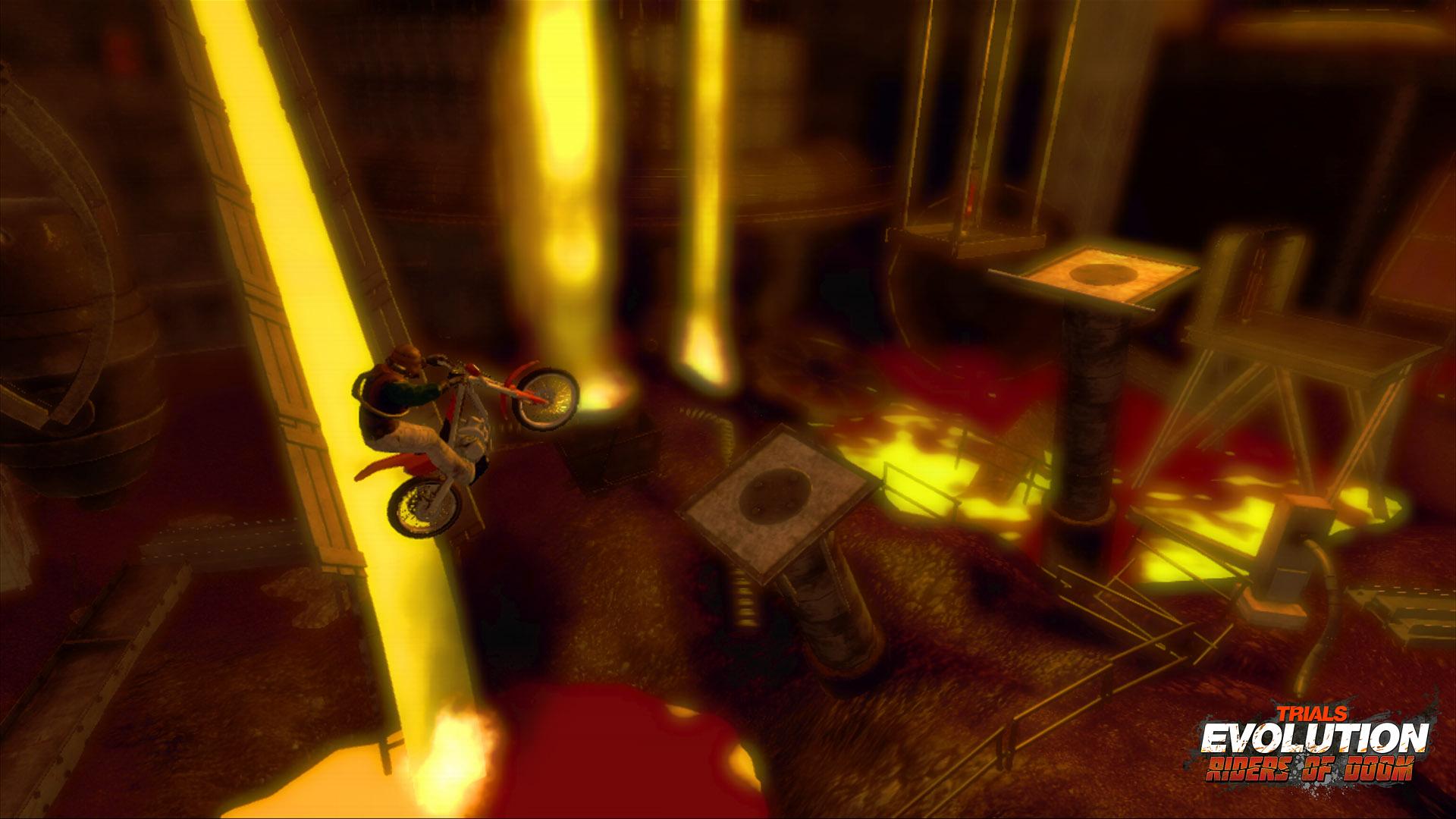 Trials Evolution: Riders of Doom DLC launch trailer