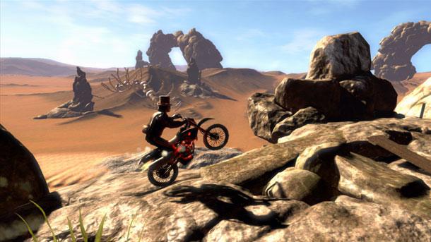 The apocalypse arrives in Trials Evolution's Riders of Doom DLC