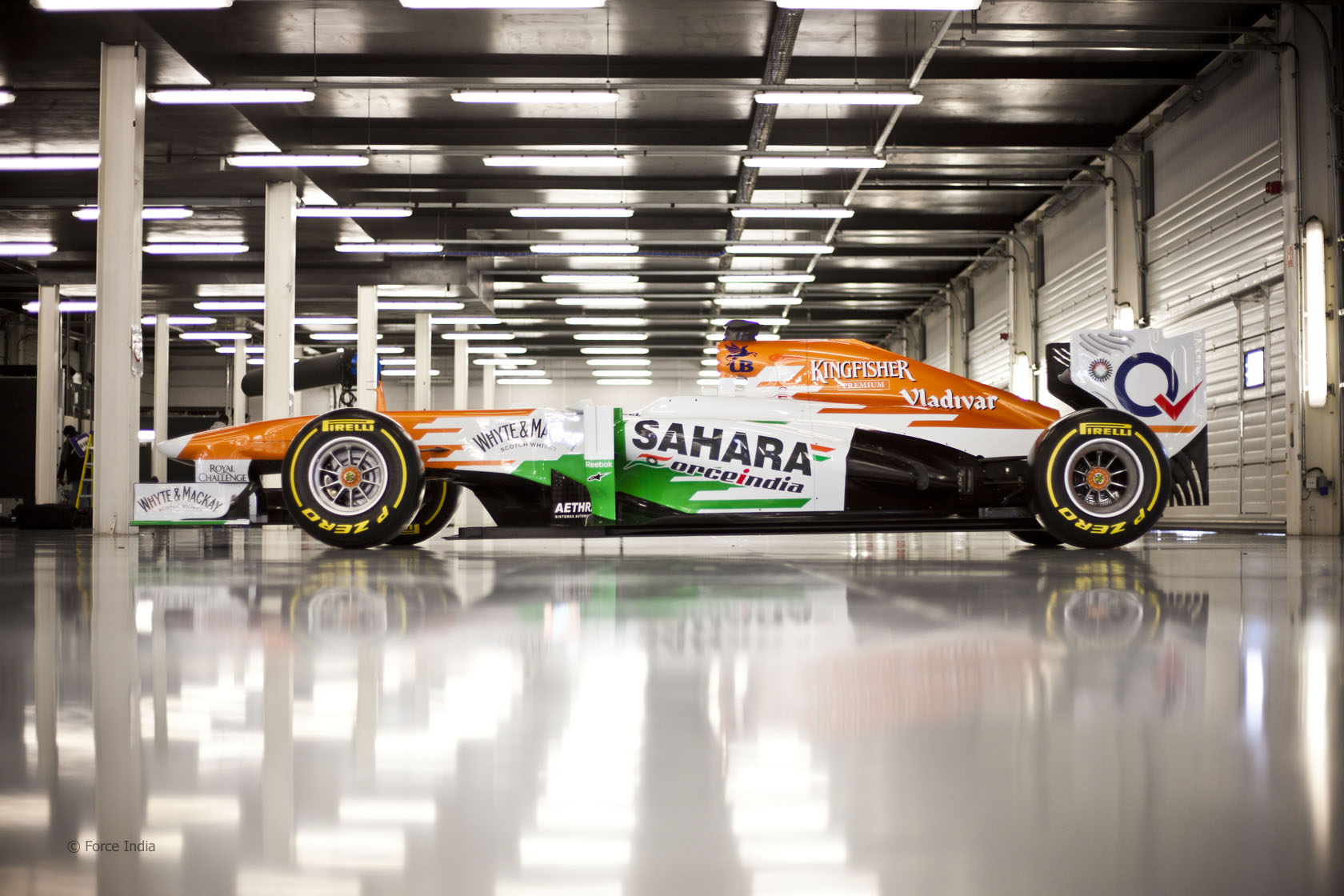 Force India's VJM06 unveiled at Silverstone