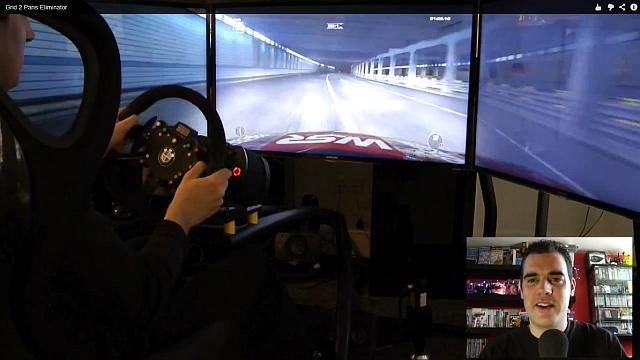 Grid 2 Paris Elimination hands-on gameplay video