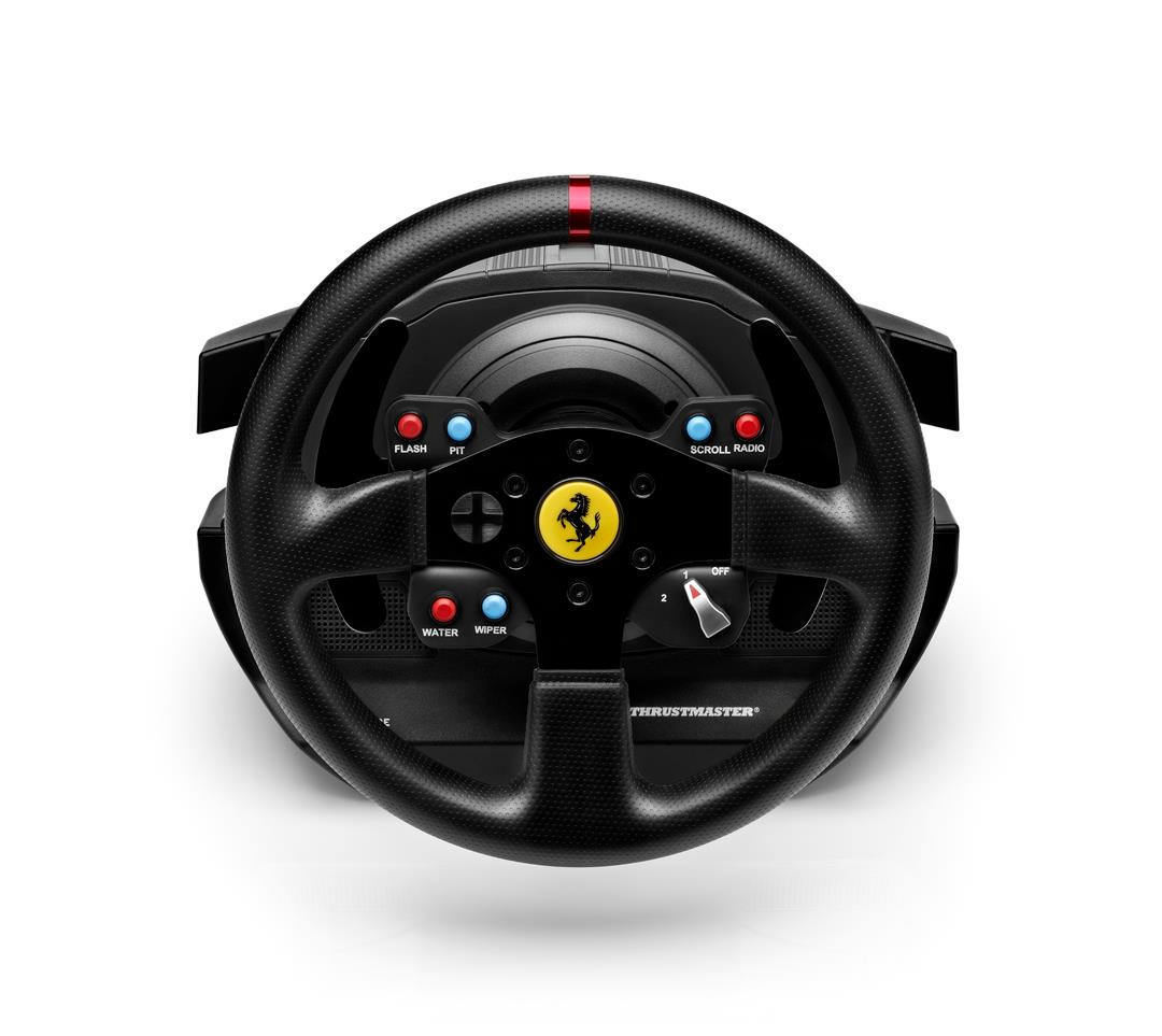 Thrustmaster unveils Ferrari GTE Wheel Add-On Ferrari 458 Challenge Edition