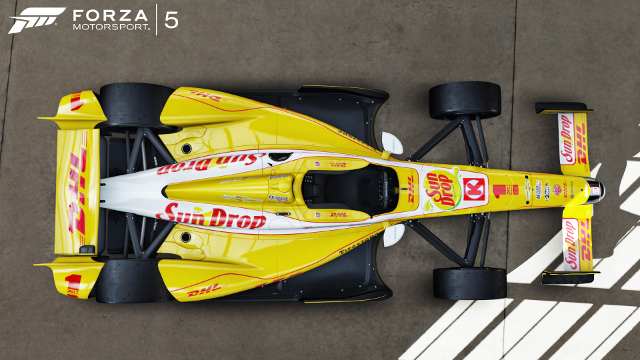 IndyCars & historic F1 cars confirmed for Forza 5