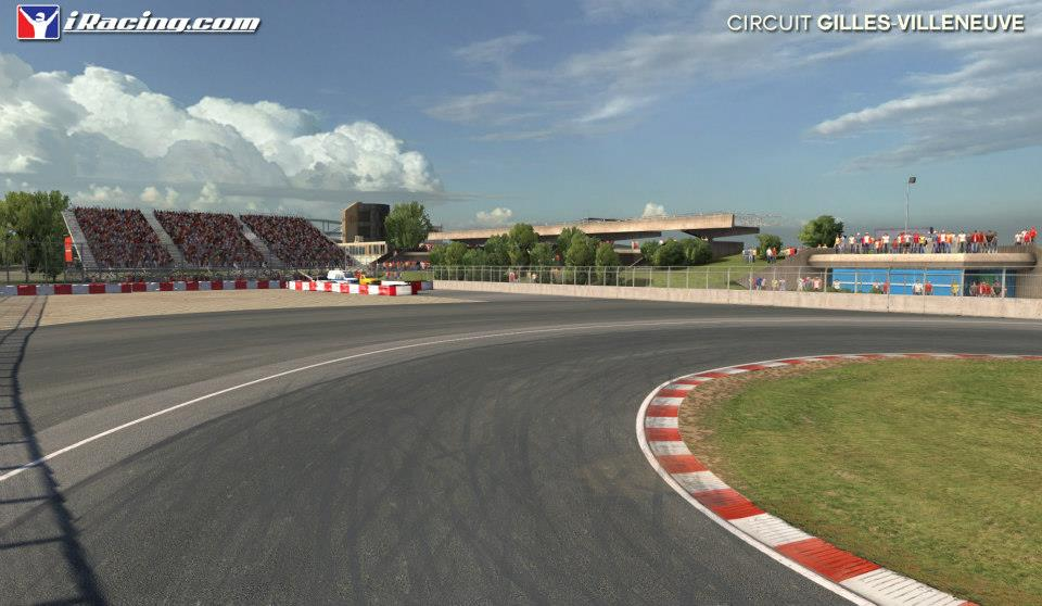 iRacing Circuit Gilles Villeneuve screenshots released