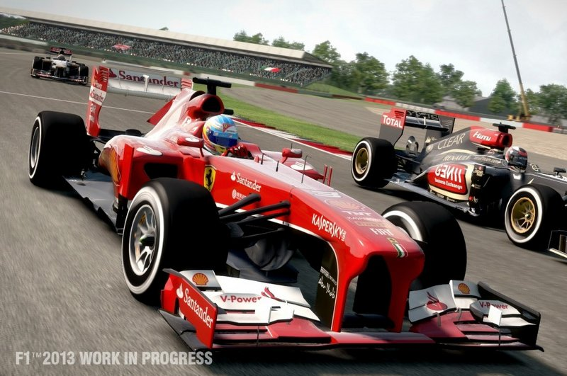 F1 2013 racing to retail this October, Hungary hot lap gameplay video released