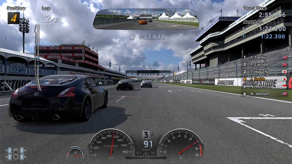 Gran Turismo 6 GT Academy 2013 demo out now - first look bumper cam video