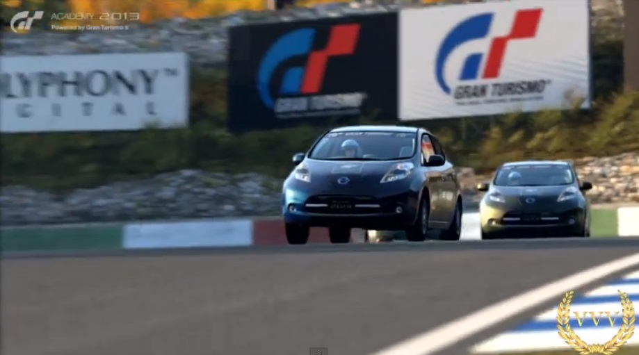 GT Academy 2013 demo gameplay: exterior view and replays