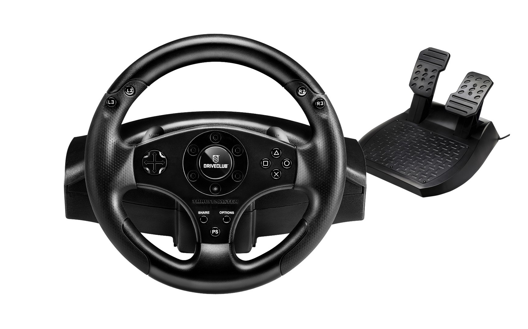 First official PS4 racing wheel announced: the Thrustmaster T80 DriveClub Edition