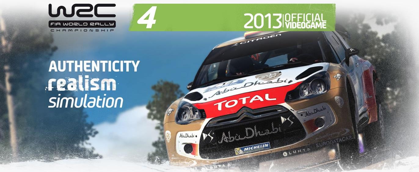 First WRC 4 trailer: Rally Sweeden